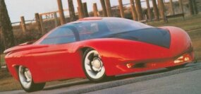 Estimates of the development cost for the Banshee ranged up to $1.5 million. That figure wasn't unusual for a modern, running, one-of-a-kind concept car.