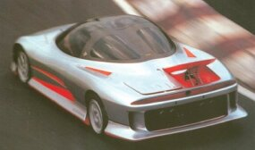 Part of the HSR concept car's appeal was the fact that many of its features existed in some form on Mitsubishi production models, such as the Eclipse.