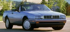 High-tech touches like a standard traction-control system were introduced with the 1990 Cadillac Allante.