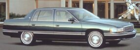 Few of Cadillac's models of the '90s appealed to a young, upscale audience. The 1994 Cadillac Sedan de Ville is shown here.