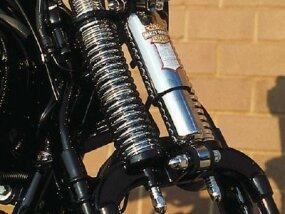 Chrome springs and shocks highlight