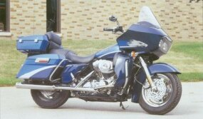 Screaming Eagle accessories were available for the 2001 Harley-Davidson FLTR Road Glide.