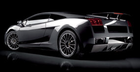 "The Superleggera means ""superlight"" in Italian and features a midships-mounted V-10 engine and all-wheel drive."