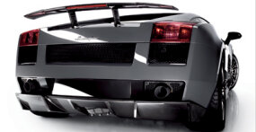 The 2007 Lamborghini Gallardo Superleggera has a top speed of 195 mph and does 0-60 mph in a claimed 3.8 seconds.