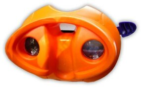 When you use a View-Master viewer, it's easy to see how your binocular vision system works.