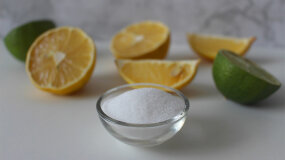 citric acid and lemons