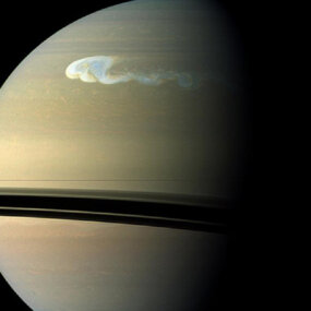 Saturn's Great White Spot