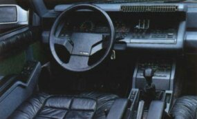 As suggested by the Alpine-Renault GTA's sleek interior, this sports car was able to reach speeds near 150 mph.