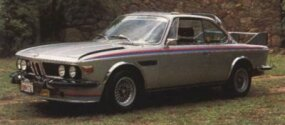 By 1971, BMW was racing the BMW 2800CS in lightweight 3.0CSL form.