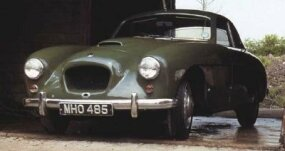 The Bristol 404 was the first outright performance car for this automaker.