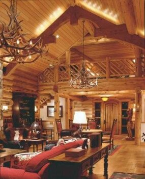 Cabin Decor Idea New Becomes Old Again Howstuffworks