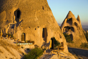 The cave dwellings of Cappadocia