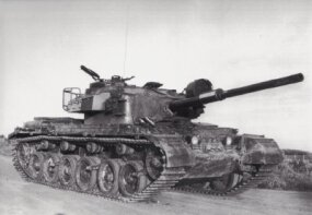 The Mark 13 is a more recent variation of the venerable British Centurion MBT. It is equipped with a 105mm main gun, a ranging machine gun, and an infrared searchlight.
