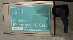 Bluetooth PC Card