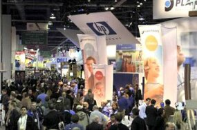 The floor of the 2004 Consumer Electronics Show