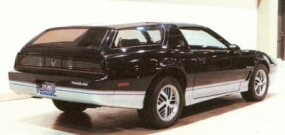 This third-series Firebird Type K concept car was cobbled up during 1986 as a speculative exercise.
