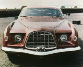 Shikado, the Chronos designer was struck by the 1953 Chrysler/Ghia D'Elegance's front end.