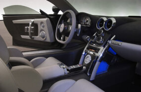 The interior even features enough room to sit comfortably.