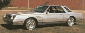This stock-looking 1980 Dodge Mirada was the last turbine-powered car from Chrysler.