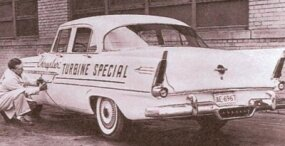 The Turbine Special, a 1956 Plymouth with a CR1 engine, got only 13 mpg on a cross-country run.
