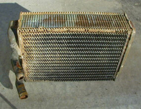 A heater core looks like a small radiator.