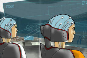 Sketch of the Cybathlon's proposed brain-computer interface race