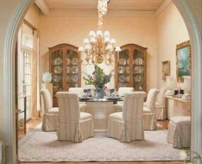 Traditional and Formal Dining Rooms - Dining Room Decorating ...