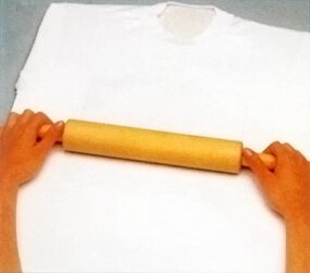 Use a rolling pin