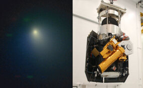 Comet Tempel 1 and Deep Impact spacecraft