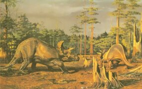 Triceratops lived until the end of the Cretaceous Period