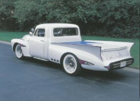 The Dream Truck was restored in the late 1970s and returned to its previous bright white paint glory.