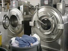 Washing machines for shirts and other laundered clothing: Shirts are washed in water rather than being dry cleaned.