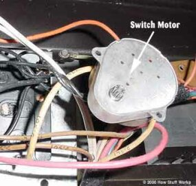 Cycle switch motor