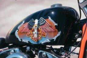 The Harley-Davidson characteristics.