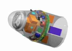 Dragon spacecraft in cargo configuration