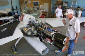 EZ-Rocket engines and oxygen tanks