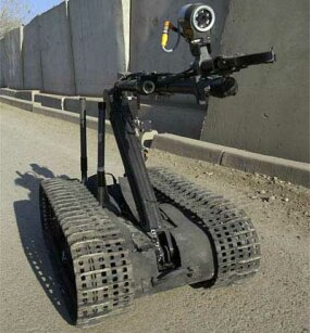 "The ""Talon"" was employed on January 6, 2005, by the 184th EOD Robotics Team stationed in Baghdad, Iraq."