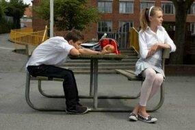 Flirting doesn't always work.