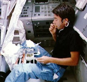 Photo courtesy NASA                              Freeze-dried foods have been a staple onboard many of NASA's space missions.