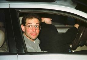 Hacker Kevin Mitnick, newly released from the Federal Correctional Institution in Lompoc, California.