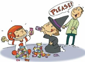Trade your unwanted candy at a candy swap meet.