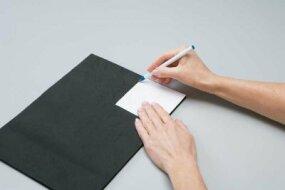 Carefully trace your image onto the felt.