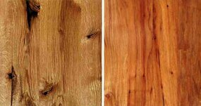 Antique Kentucky Chestnut Oak/Oklahoma Heart Pecan