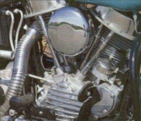 1948-1965 Panhead Harley-Davidson Engine