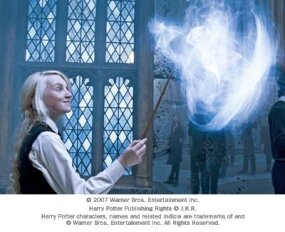 "Evanna Lynch as Luna Lovegood in Warner Bros. Pictures' fantasy ""Harry Potter and the Order of the Phoenix."""
