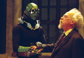 Abe Sapien and Professor Broom