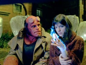Hellboy harbors a secret crush on fellow agent Liz Sherman.