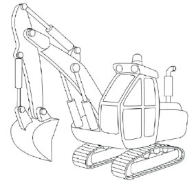 How To Draw Excavators Howstuffworks