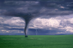 Tornadoes: one of the bonus effects of hurricanes.