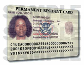 Lawful permanent residents are granted permanent resident cards, also known as green cards.